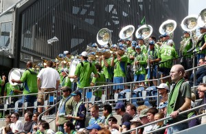 Seattle Sounders Anhänger