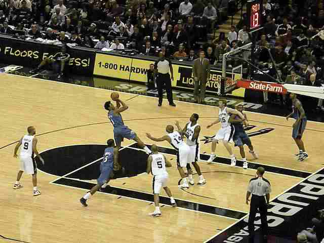 San Antonio Spurs vs. Washington Wizards 12.26.10 / Foto: Matthew D. Britt
